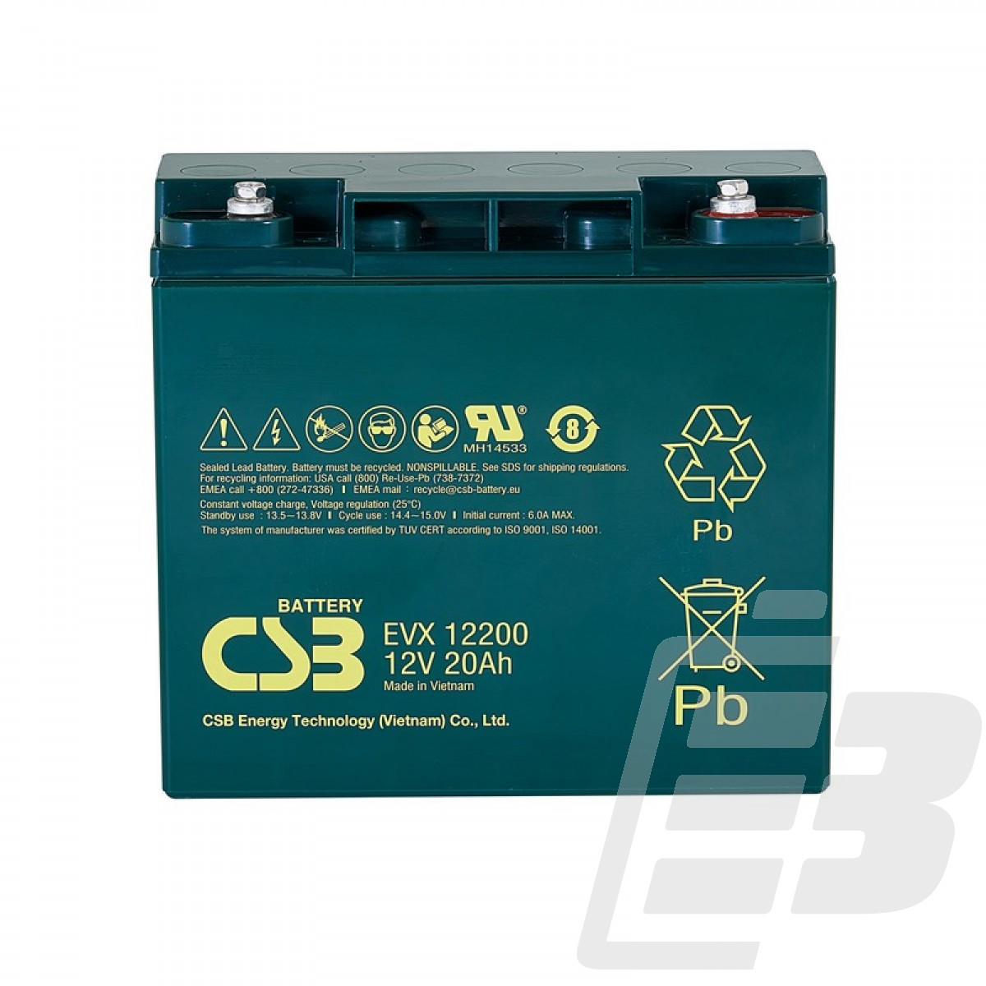 CSB Lead Acid Battery EVX12200