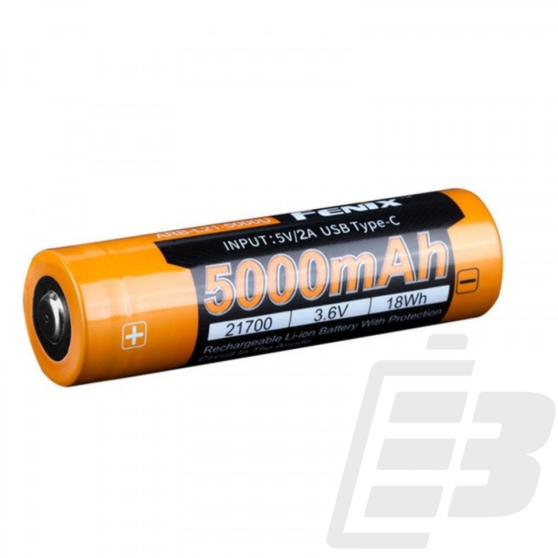 Fenix ARB-L21-5000U 21700 Li-ion Battery 5000mah