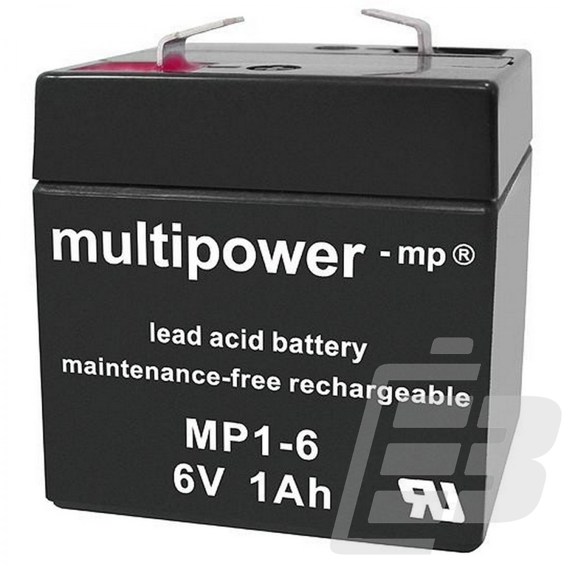 Multipower Lead Acid Battery 6V 1Ah