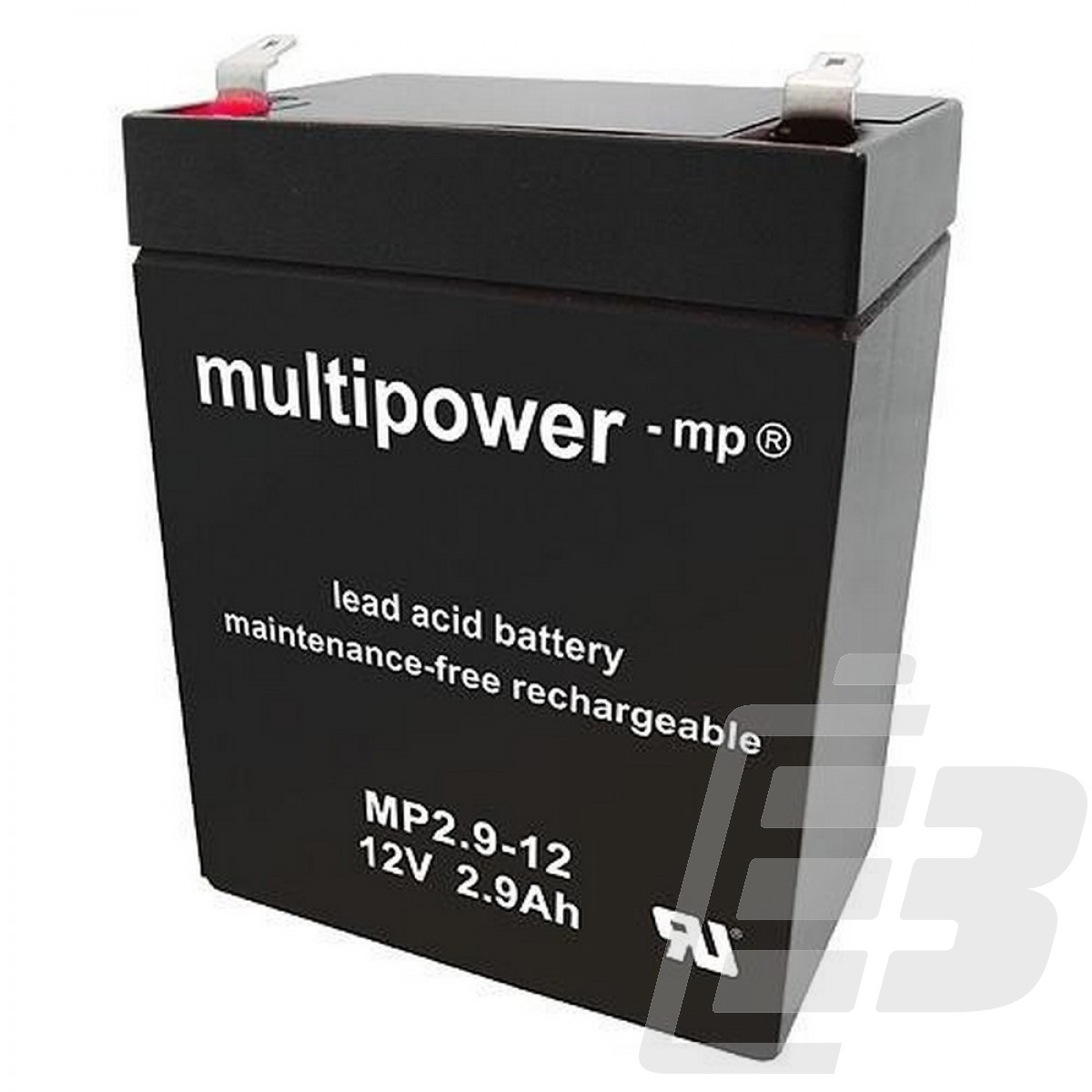 Multipower Lead Acid Battery 12V 2,9Ah