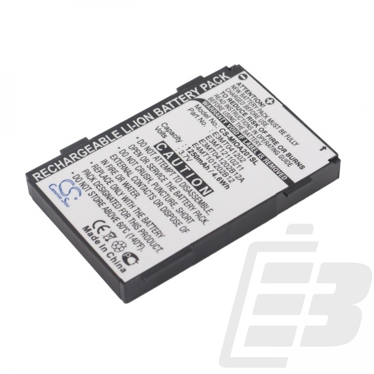 PDA battery Mitac Mio A201_1