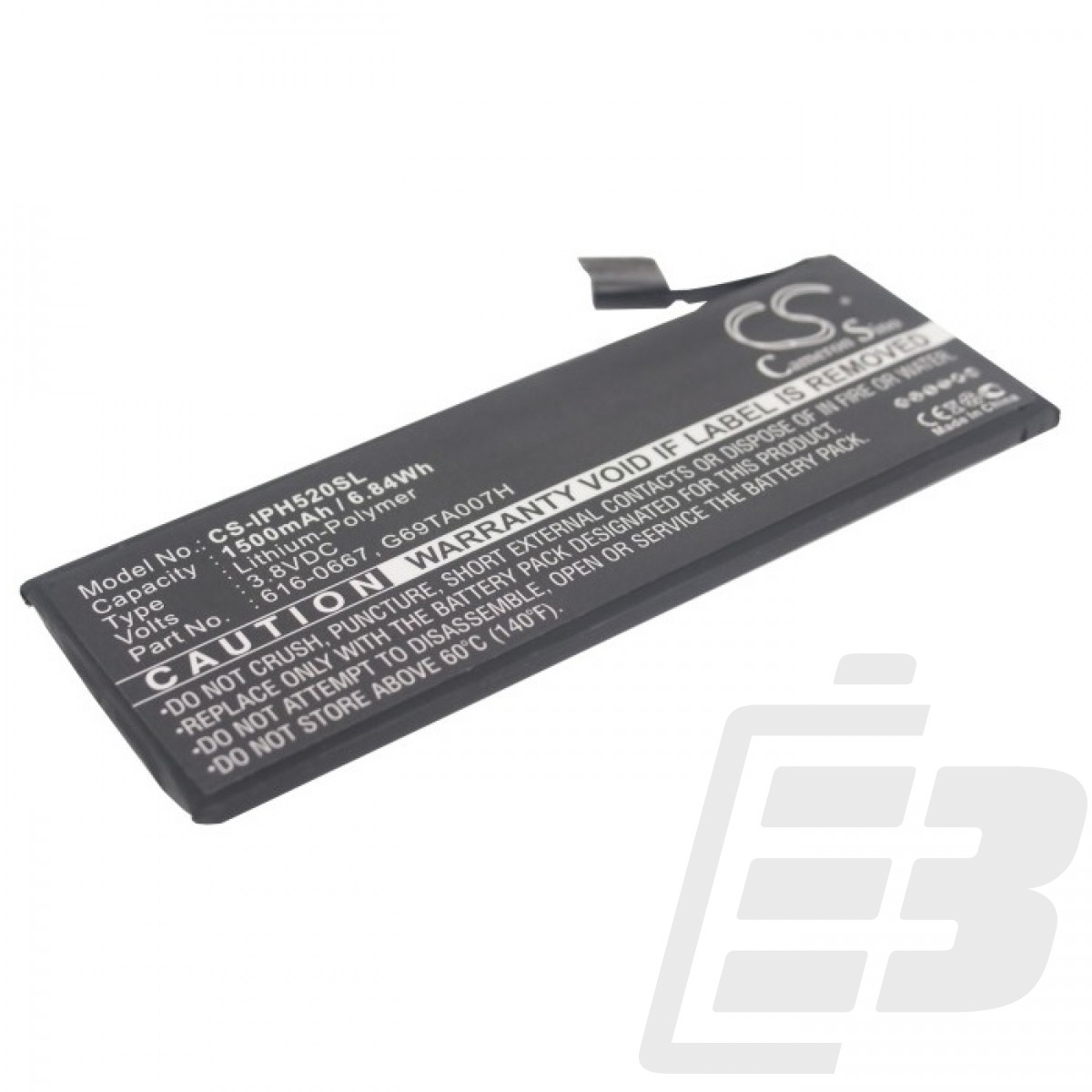 Smartphone battery Apple iPhone 5C_1