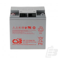 CSB Lead Acid Battery HR12120W 12V 30Ah