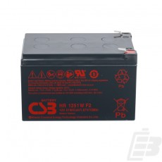 CSB Lead Acid Battery HR1251W 12V 15Ah