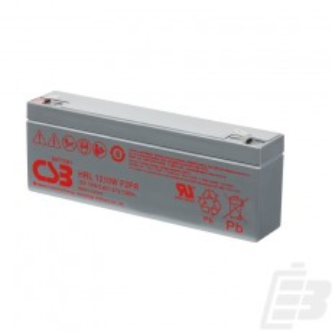 CSB Lead Acid Battery HRL1210W 12V 2.3Ah