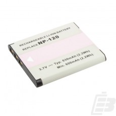 Camera battery Casio NP-120_1