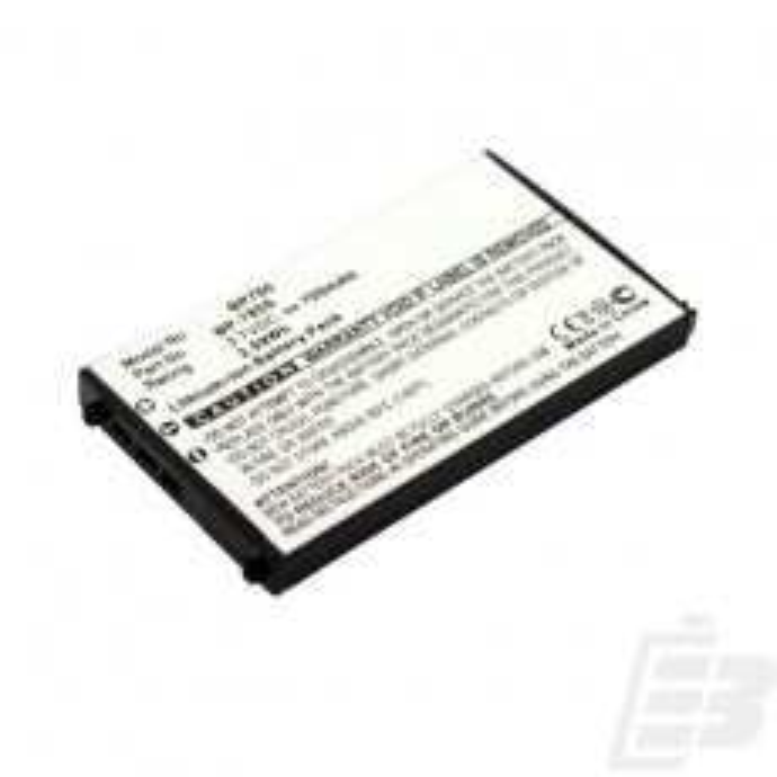 Camera battery Kyocera BP-780S_1