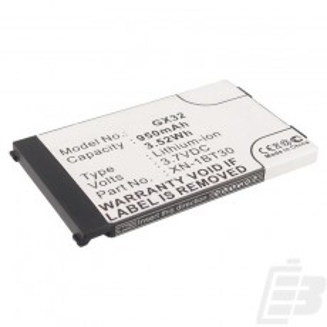 Mobile phone battery Sharp GX30_1