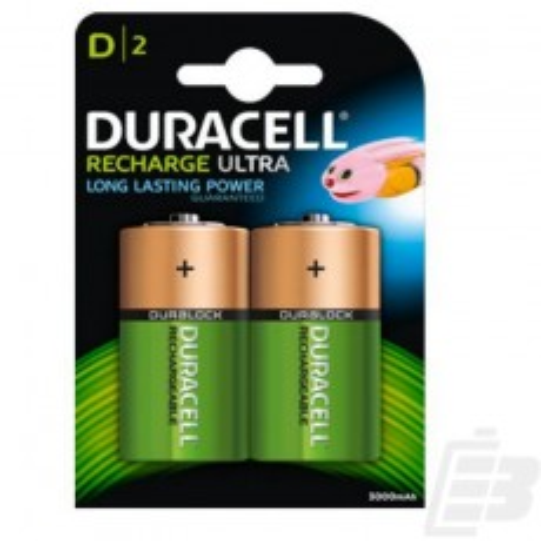 Duracell HR20 D Rechargeable Battery 3000mah 1