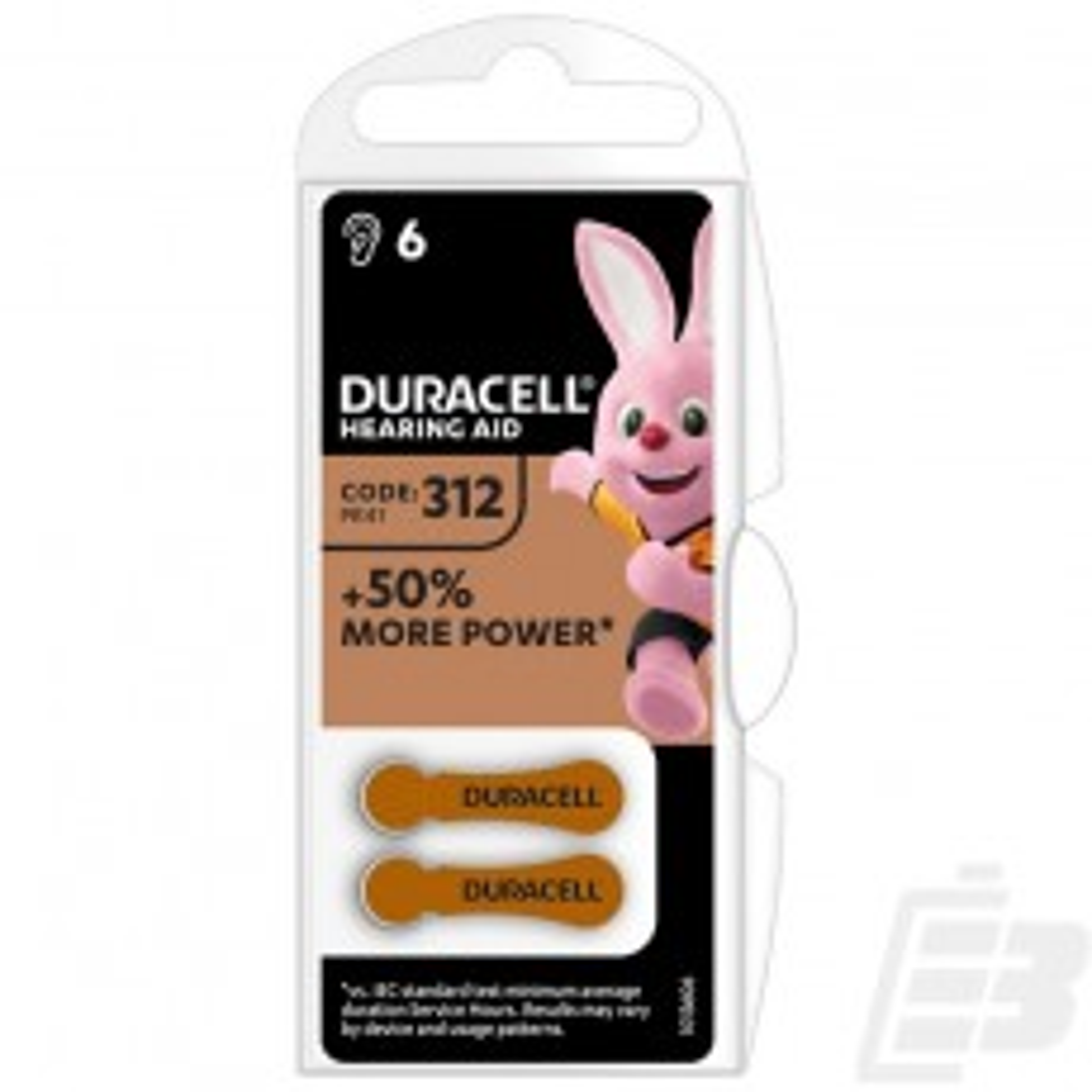 Duracell EasyTab DA 312 1
