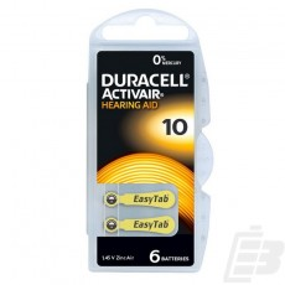 Duracell ActinveAir DA 10