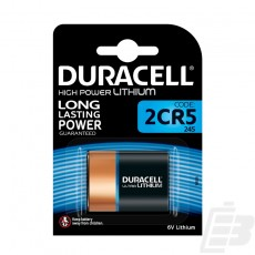 Duracell Ultra M3 2CR5 Lithium Battery