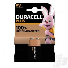 Duracell Plus MN1604 9V battery 100% Life Guaranteed