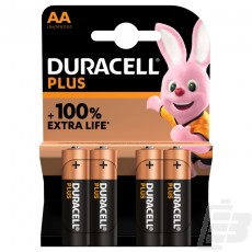 Duracell Plus AA  MN1500 + 100% Extra Life