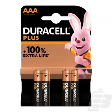 Duracell Plus AAA  MN2400 + 100% Extra Life