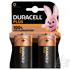 Duracell Plus Battery MN1300 D 100% Life Guaranteed