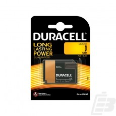 Duracell Plus 7K67  J Alkaline battery
