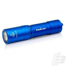 Fenix E01 V2.0 EDC Flashlight blue
