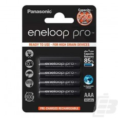 Eneloop Pro AAA PreCharged Battery 930mah 1