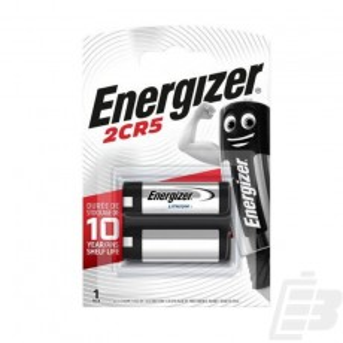 Energizer 2CR5 6V Lithium Battery