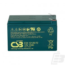 CSB Lead Acid Battery EVX12120 1