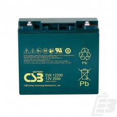 CSB Lead Acid Battery EVX12200