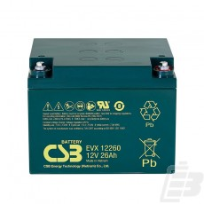 CSB Lead Acid Battery EVX12260_1