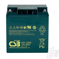 CSB Lead Acid Battery EVX12300