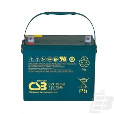 CSB Lead Acid Battery EVX12750 1