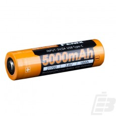 Fenix ARB-L21-5000U 21700 Li-ion Battery 5000mah
