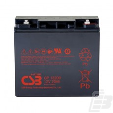 CSB Lead Acid Battery GP12200 1