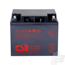 CSB Lead Acid Battery GP12400 1