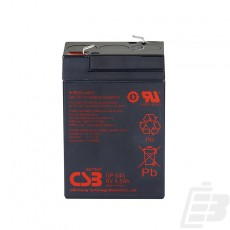 CSB Lead Acid Battery GP645 1