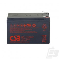CSB Lead Acid Battery GPL12120 12V 12Ah