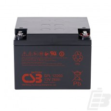 CSB Lead Acid Battery GPL12260 12V 26Ah