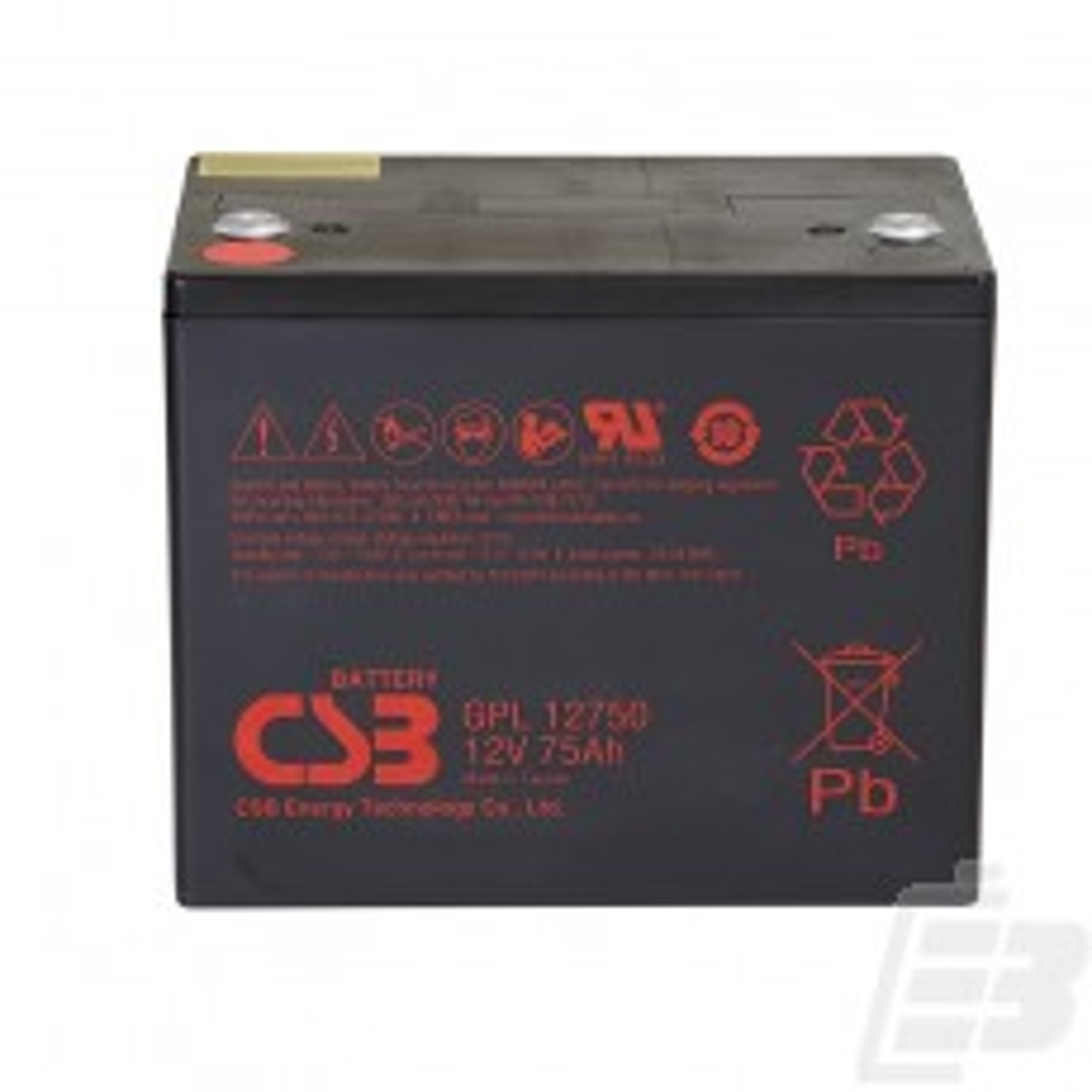 CSB Lead Acid Battery GPL12750 12v 75ah