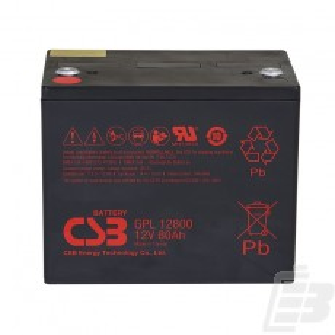 CSB Lead Acid Battery GPL12800 12V 80Ah