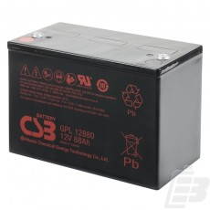 CSB Lead Acid Battery GPL12880 12V 88Ah