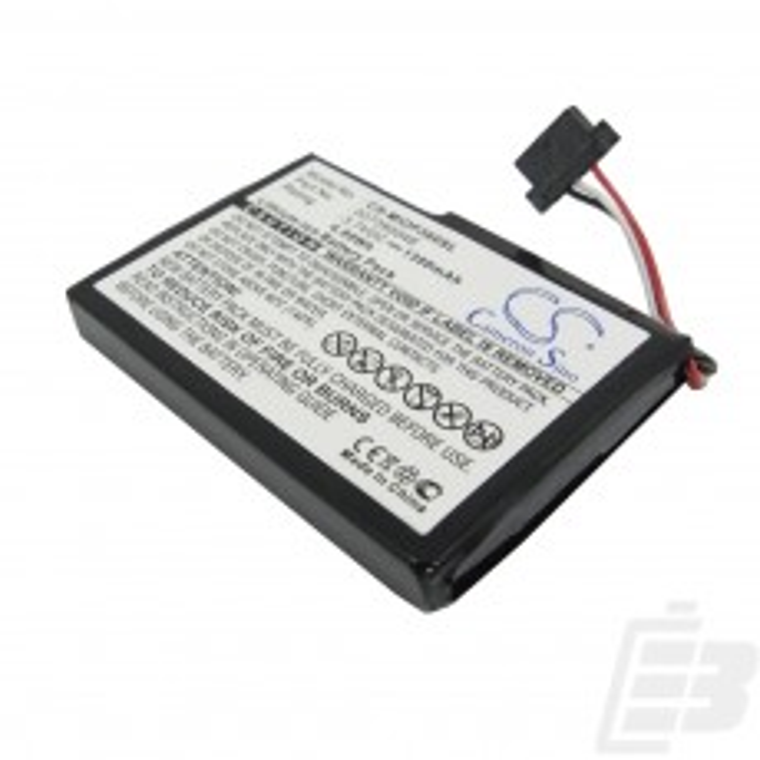 GPS battery Mitac Mio P550_1