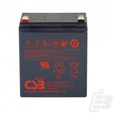 CSB Lead Acid Battery HR1227W 1