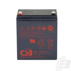 CSB Lead Acid Battery HRL1225W F2
