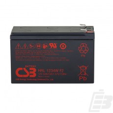 CSB Lead Acid Battery HRL1234WFR 12V 9Ah