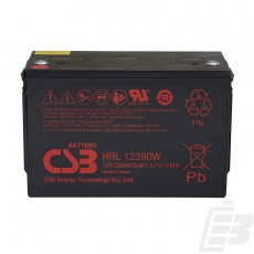 CSB Lead Acid Battery HRL12390W 1