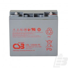 CSB Lead Acid Battery HRL1280W 12V 20Ah