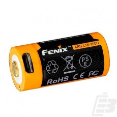 Fenix ARB-L16-700U 16340 USB Battery 700mAh 1