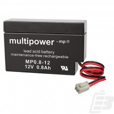 Multipower Lead Acid Battery 12V 0,8Ah