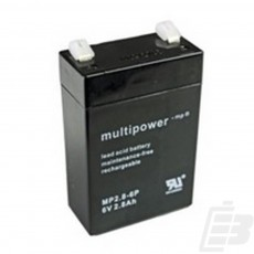 Multipower Lead Acid Battery 6V 2.8Ah