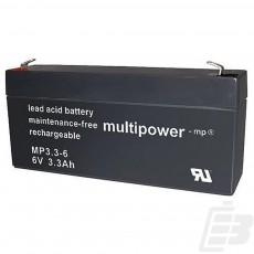 Multipower Lead Acid Battery 6V 3.3Ah