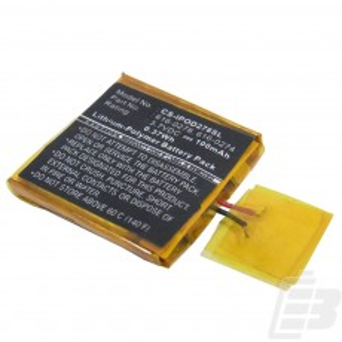 MP3 battery Apple iPod Shuffle 2nd generation_1
