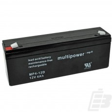 Multipower Lead Acid Battery 12V 4Ah